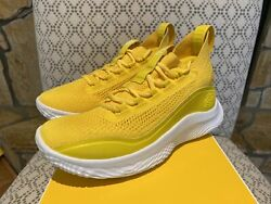 Under Armour Curry 8.5 UA Men Basketball Shoes Sneakers New Yellow 3023085 701 $159.99