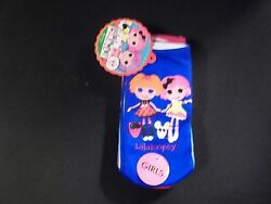 Lalaloopsy Girls Socks 4 Pairs Size 6 8.5 Different Designs Every Pair $12.99