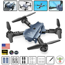 FPV WiFi Drone HD Camera Aircraft Foldable Quadcopter Selfie Toy Voice Control $48.99