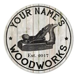Your Name Personalized Woodworks Farmhouse Rustic Style Wood Sign B3 00140017001 $40.95