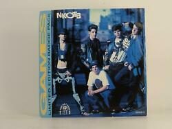 NEW KIDS ON THE BLOCK GAMES THE KIDS GET HARD MIX 70 2 Track 7quot; Single Pictu GBP 3.41