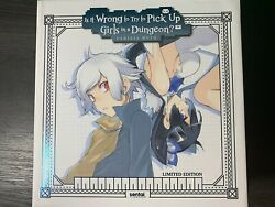 Is It Wrong to Try to Pick Up Girls in a Dungeon? Danmachi Limited Blu ray USA $390.00