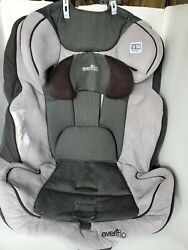 Evenflo Symphony #34511264 2013 Booster Seat Cover Fabric Cushion Part Gray. $14.00