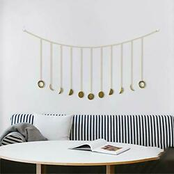 Moon Decor Wall Decorations Accents Boho Wall Decor Moon Phase Garland with $12.22