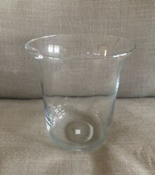Partylite Seville Replacement Large Glass 3 Wick Candle Holder Hurricane $130.00