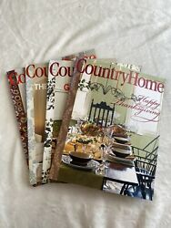 Country Home lof of 4 back issues 2005 2006 $7.30