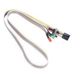 PC Case Red Green LED Lamp AT Supply Reset D Switch Lead 20quot; V8H8 $7.99