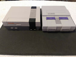 NES amp; SNES CLASSIC MINI SYSTEMS ULTIMATE PACKAGE YOU GET THE BASICS PLUS MORE $300.00