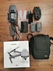DJI Mavic Pro Quadcopter with Remote Controller extra battery and bag $599.00