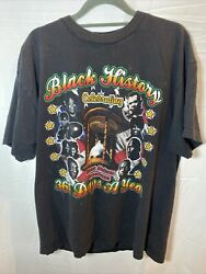 Vintage Black History 365 Days A Year Great Leaders T Shirt Size Large. $35.00
