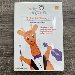 Baby Einstein Baby Beethoven Symphony of Fun DVD Disney Ages 0 3 $5.25