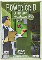 Power Grid: The Robots Expansion SEALED UNOPENED FREE SHIPPING $14.99