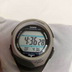Casio PHYS watch used. Light doesn#x27;t work. New battery fitted. STR 300 2575.....