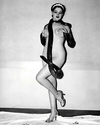Miss Zorita Burlesque Photo 8X10 - Exotic Dancer Snake Buy Any 2 Get 1 FREE $4.95
