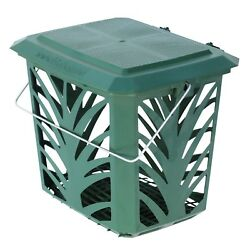 Vented Kitchen Compost Caddy Green for Food Waste Recycling 7 Litre 7L Bin GBP 8.49
