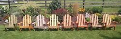 Outdoor Kennebunkport Cedar Adirondack Chair *8 STAIN OPTIONS* Amish Made USA