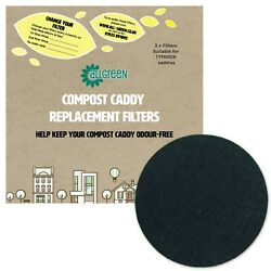 Compost Caddy Spare Filters Suitable for Typhoon caddies Pack of 2 filters GBP 4.49