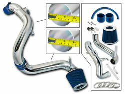 BCP BLUE 12-15 Civic EXLXDX 1.8L Cold Air Intake Induction Kit + Filter