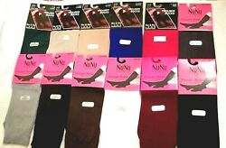 Women's Knee- High Trouser 9-11 Socks 1 pair -12 COLORS to Choose from Drop down
