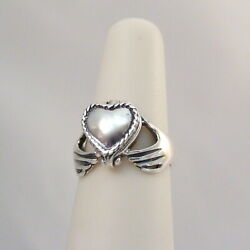 Claddagh Heart Poison Ring 925 Sterling Silver Victorian Locket Pillbox Ring $22.00