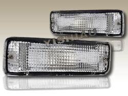 89-95 TOYOTA PICKUP  4RUNNER CLEAR BUMPER SIGNAL LIGHTS LAMPS $22.00