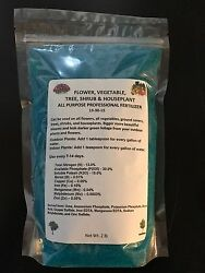 Fertilizer Water Soluble 13 30 15 Plant Food 2 lb bag Flower Vegetable Shrubs $8.85