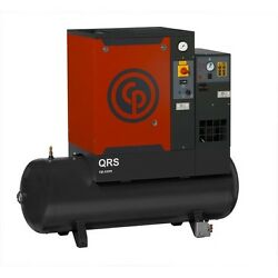 CP 3-Phase 60gal. Rotary Screw 7.5 HP Air Compressor & Dryer QRS7.5 HPD-3