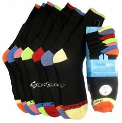 7 x Mens Days of The Week Poly Cotton Socks Shoe Size 6 11 GBP 6.99