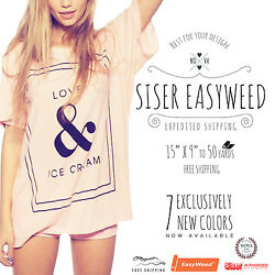 Siser Easyweed IRON-ON Heat Transfer Vinyl 15