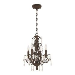 Craftmade Englewood 4 Light Mini Chandelier French Roast 25614 FR $238.85