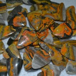Wholesale 1000pcs Beautiful Natural Bumble Bee Jasper Cab Cabochon for Jewelry #