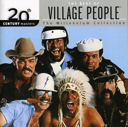 The Village People 20th Century Masters: Millennium New CD $13.50