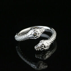 925 Solid Sterling Silver Plated WomenMen NEW Fashion Ring Gift SIZE OPEN HR439