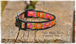 Owls dog collar for small to medium sized dogs AU $20.00