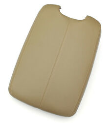 Fits 08-12 Honda Accord Beige Vinyl Leather Center Console Lid Armrest Cover $11.56