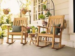 ROCKER CHAIR A GRADE TEAK GARDEN OUTDOOR PATIO DINING - DEVON ROCKER CHAIRS