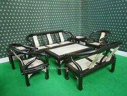 Very Comfy 7 Pieces Teak Patio Garden furniture set made by us ! High Quality