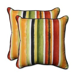 Throw Pillows Outdoor Cushions Set of 2 Replacement for Patio Deck Furniture