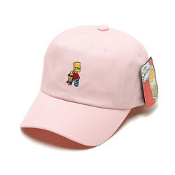 Licensed Unisex Mens The Simpsons Bart Skateboard Baseball Cap Trucker