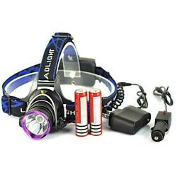 5000LM LED Rechargeable Headlight Head Lamp 2Pcs 18650 Charger US $10.98
