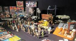 Vintage Star Wars Original Collector's Lot over 145 items 1977 - 1984 NO REPRO