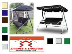 Replacement canopy for Garden Swing different sizes styles & colours 1