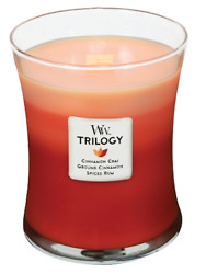 WoodWick - Trilogy Medium Candle - Exotic Spices