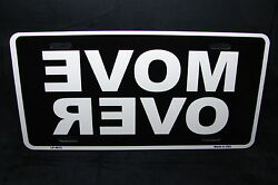 MOVE OVER METAL NOVELTY LICENSE PLATE TAG FOR CARS $11.99