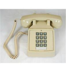 Cortelco Traditional Desk Phone w Tone Dial amp; Single gong Ringer ITT 2500 V AS $62.78
