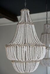 42quot; Antique French Empire Beaded Chandelier Made Goods Aida STYLE Look4Less $728.83
