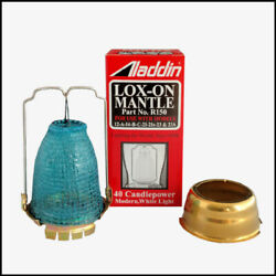 ALADDIN LAMP MANTLE ADAPTER KIT INCLUDES N146A and R150 sold as one lot $28.94