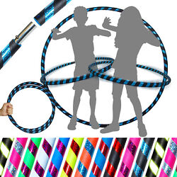 Pro Hula Hoop for Kids or Adults - Weighted Travel Hula Hoop For Exercise Dance $18.26