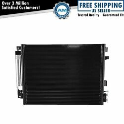 AC Condenser AC Air Conditioning w Transmission Cooler & Receiver Drier New $70.19