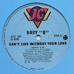 Suzy-Q Suzy Q - Can't Live Without Your Love [New Vinyl] Canada - Import